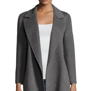 Theory Clairene Double-Face Wool/Cashmere Coat